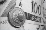 Brazilian real hit four-year low